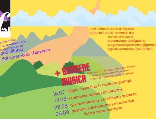 Roero Music Fest + Guarene Musica 2021 – concerti musicali nel Roero